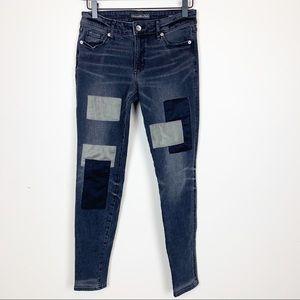 Abercrombie & Fitch | Super Skinny Patch Jean